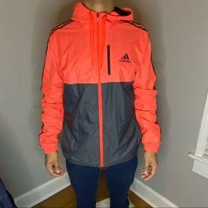 Adidas neon jacket L NWOT
